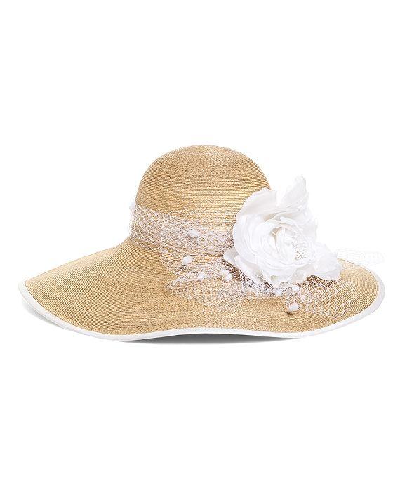 947b65ea451 Derby Scene Straw Hat Natural-White