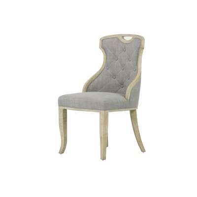 One Allium Way Straub Upholstered Dining Chair Comfortable Dining Chairs Upholstered Dining Chairs Solid Wood Dining Chairs