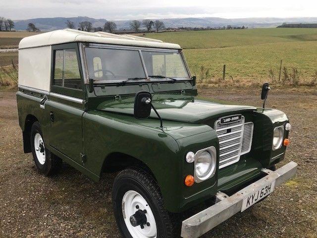 eBay: land rover series 2a petrol swb, under gone mini restoration