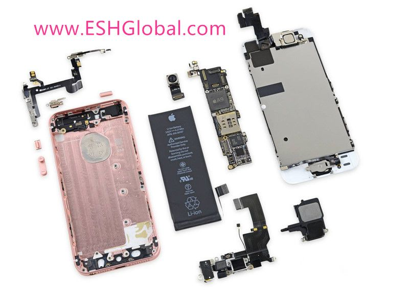 Parts exploded view of iPhone 6S   Original Replacement