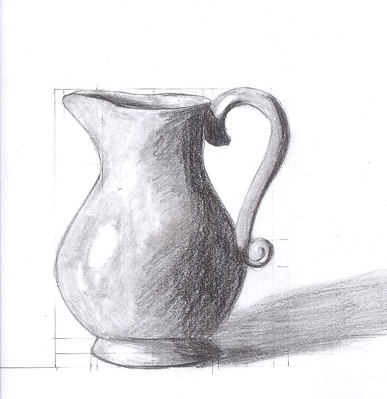 Resultado De Imagem Para Easy Still Life Drawings In Pencil Still Life Drawing Easy Still Life Drawing Flower Vase Drawing