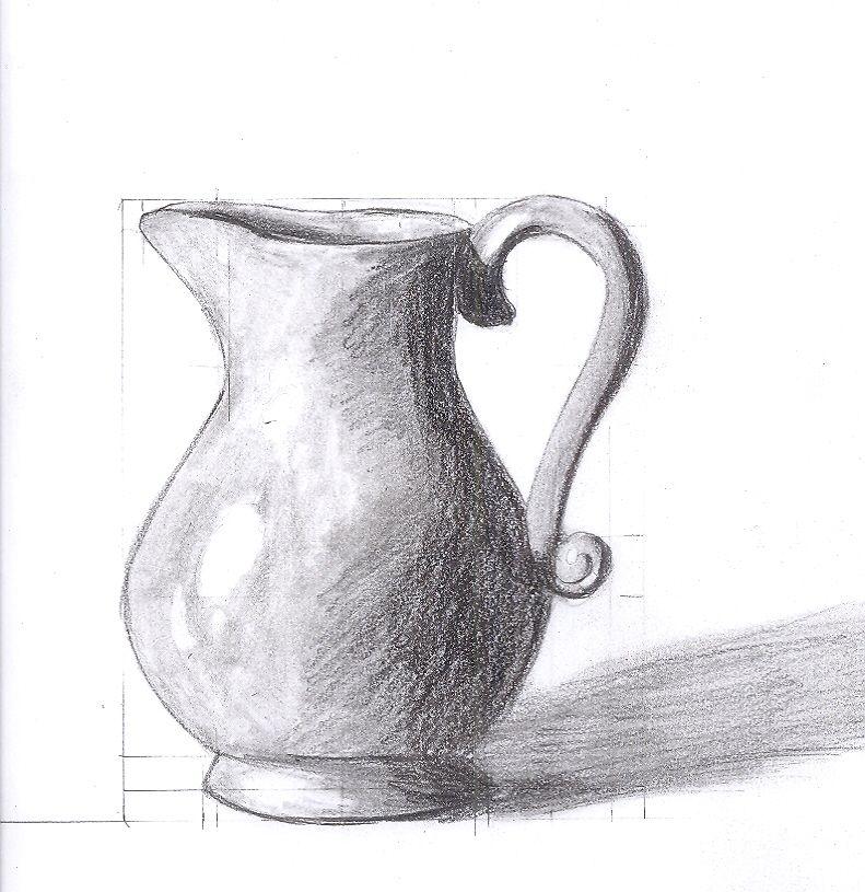 Resultado De Imagem Para Easy Still Life Drawings In Pencil Still Life Drawing Easy Still Life Drawing Flower Vase Drawing