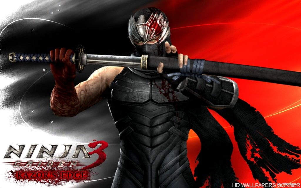 Ninja Gaiden 3 Hd Wallpapers And Backgrounds Hd Wallpapers Corner Ninja Ninja Gaiden Ryu Hayabusa