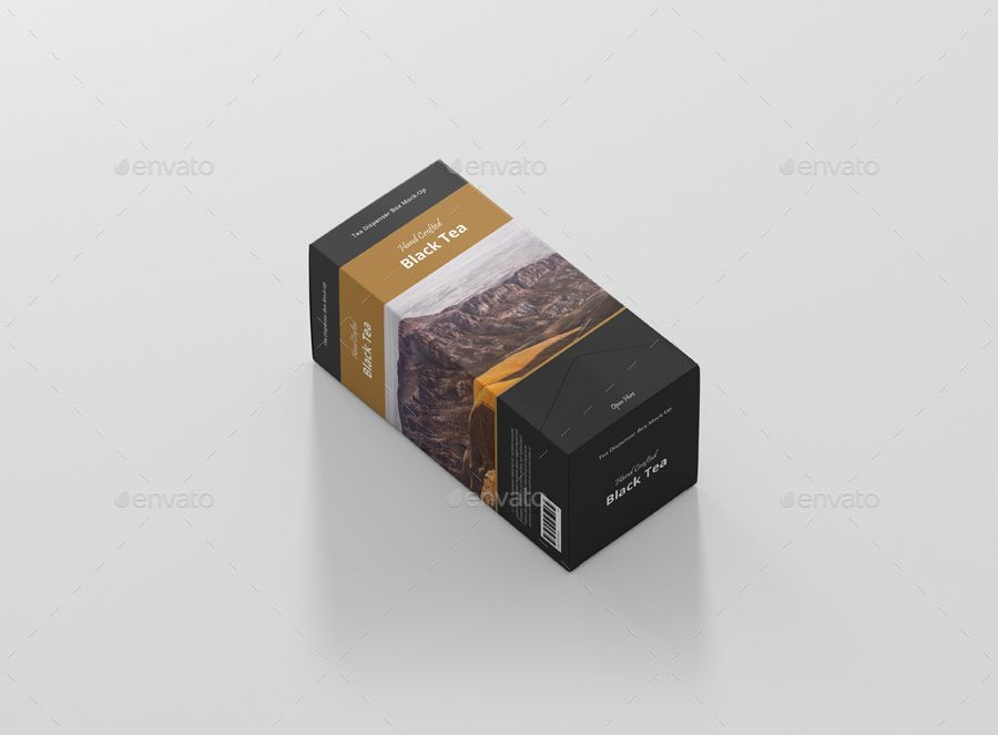 8937+ Box Tea Mockup Yellowimages Mockups