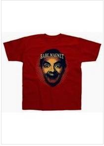 Mr. Bean Babe Magnet T-Shirt http://www.aido.com/eshop/cl_2-c_214-pr_10740-p_182-i_11398/mr.-bean-babe-magnet-t-shirt.html