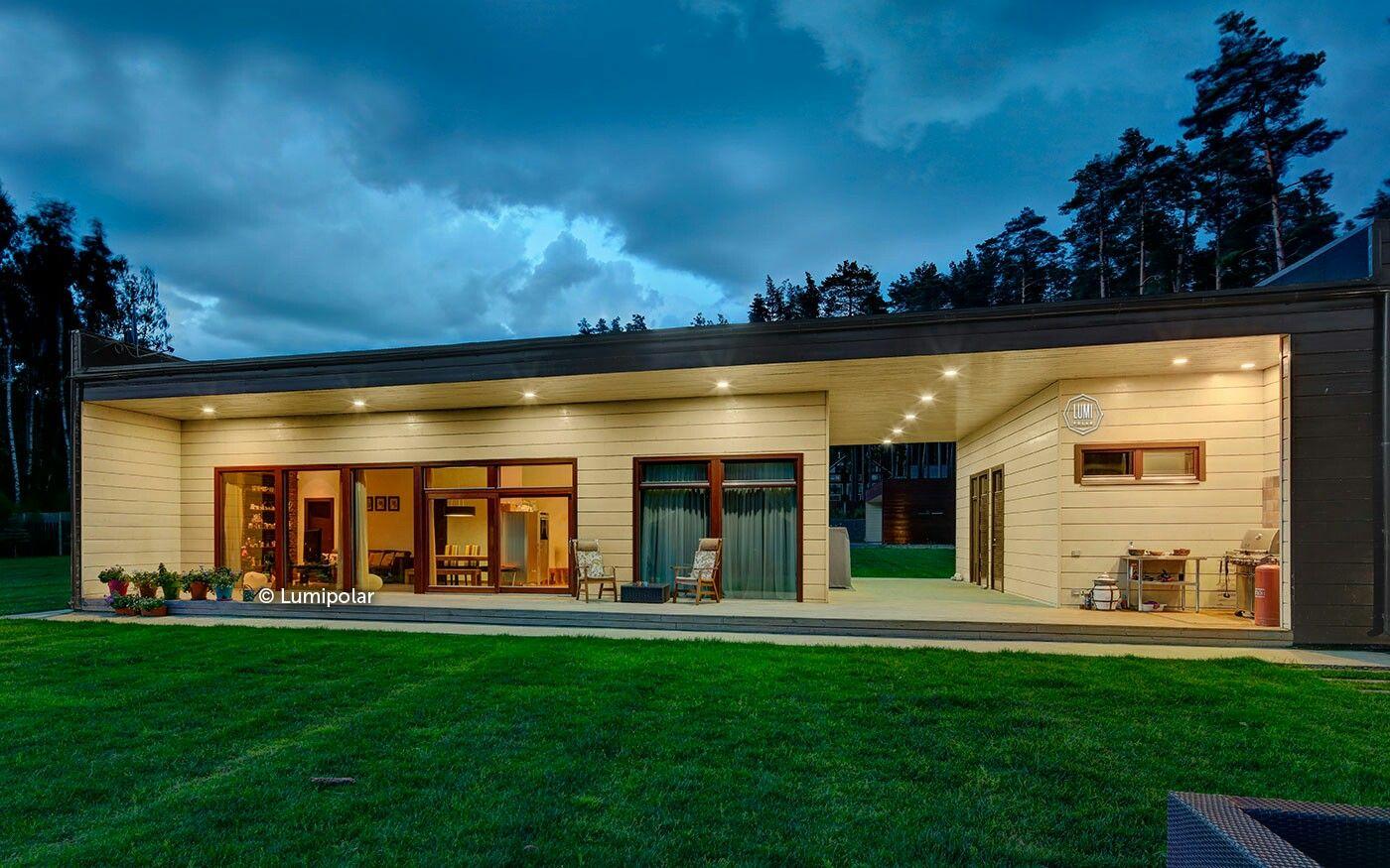 самое одноэтажные дома без крыши фото добиться максимального