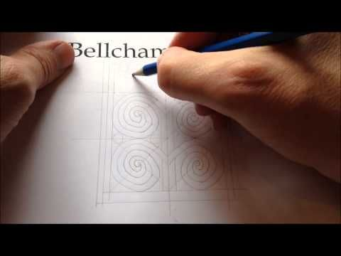 ▶ Pictish Tree of Life 3/6 - Jason Bellchamber (How to Draw Celtic Patterns 115)