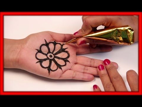 Mehndi Art Step By Step : Simple arabic mehndi design tutorials for beginners styling