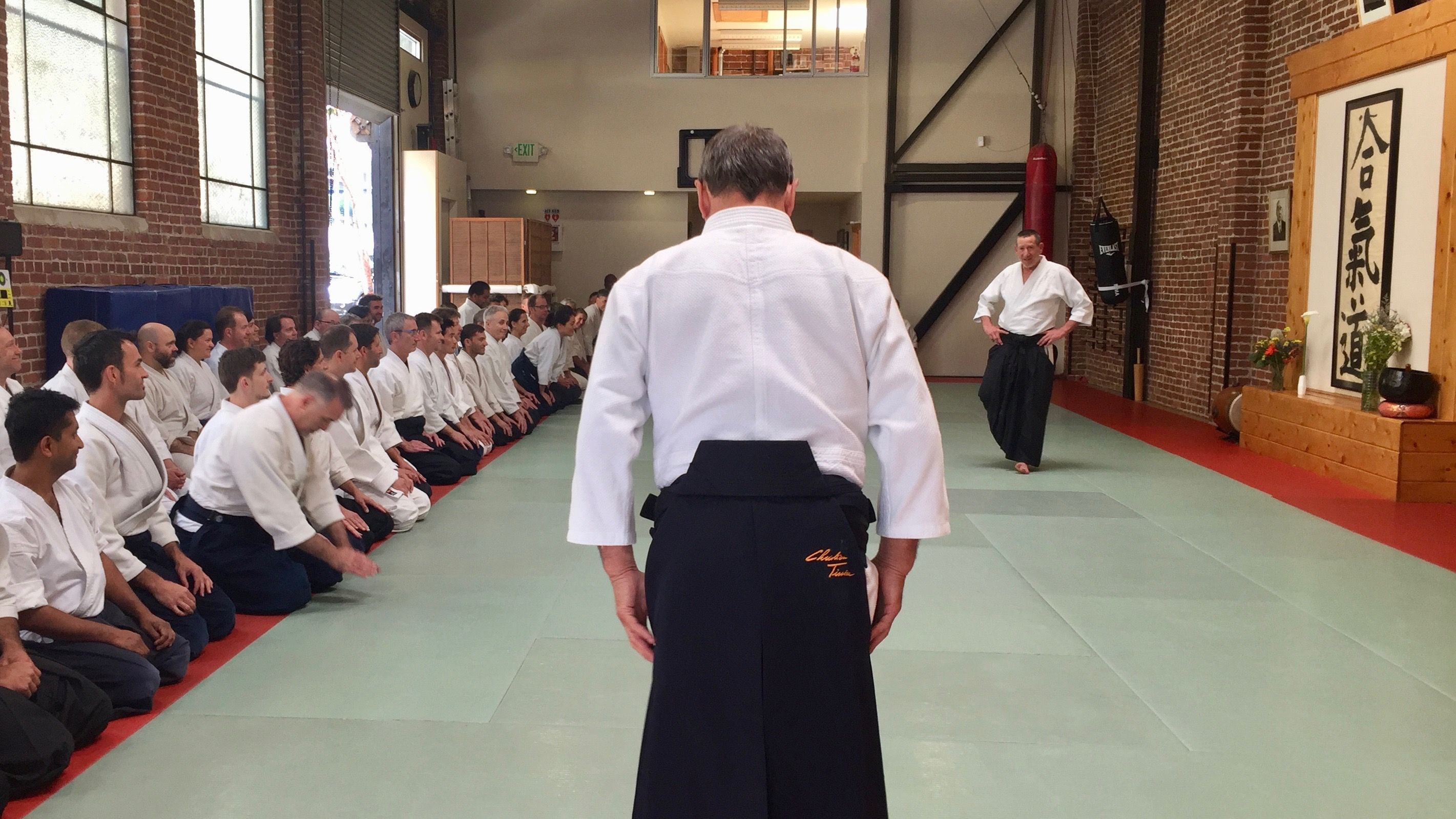 Christian Tissier: 'In aikido, we need to bring people together' – Aikido  Journal | Aikido | Pinterest | Aikido