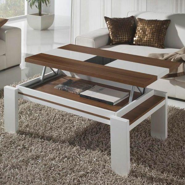 Innovation - table de salon relevable - Archzinefr Salons and Pallets