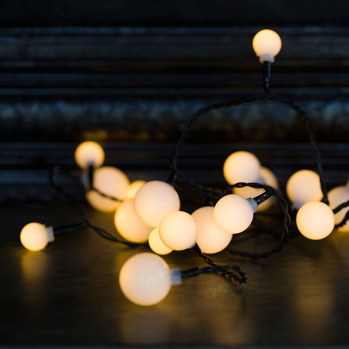 Snowball Lights | JAWNZ | Pinterest | Snowball, Bulbs and Garlands