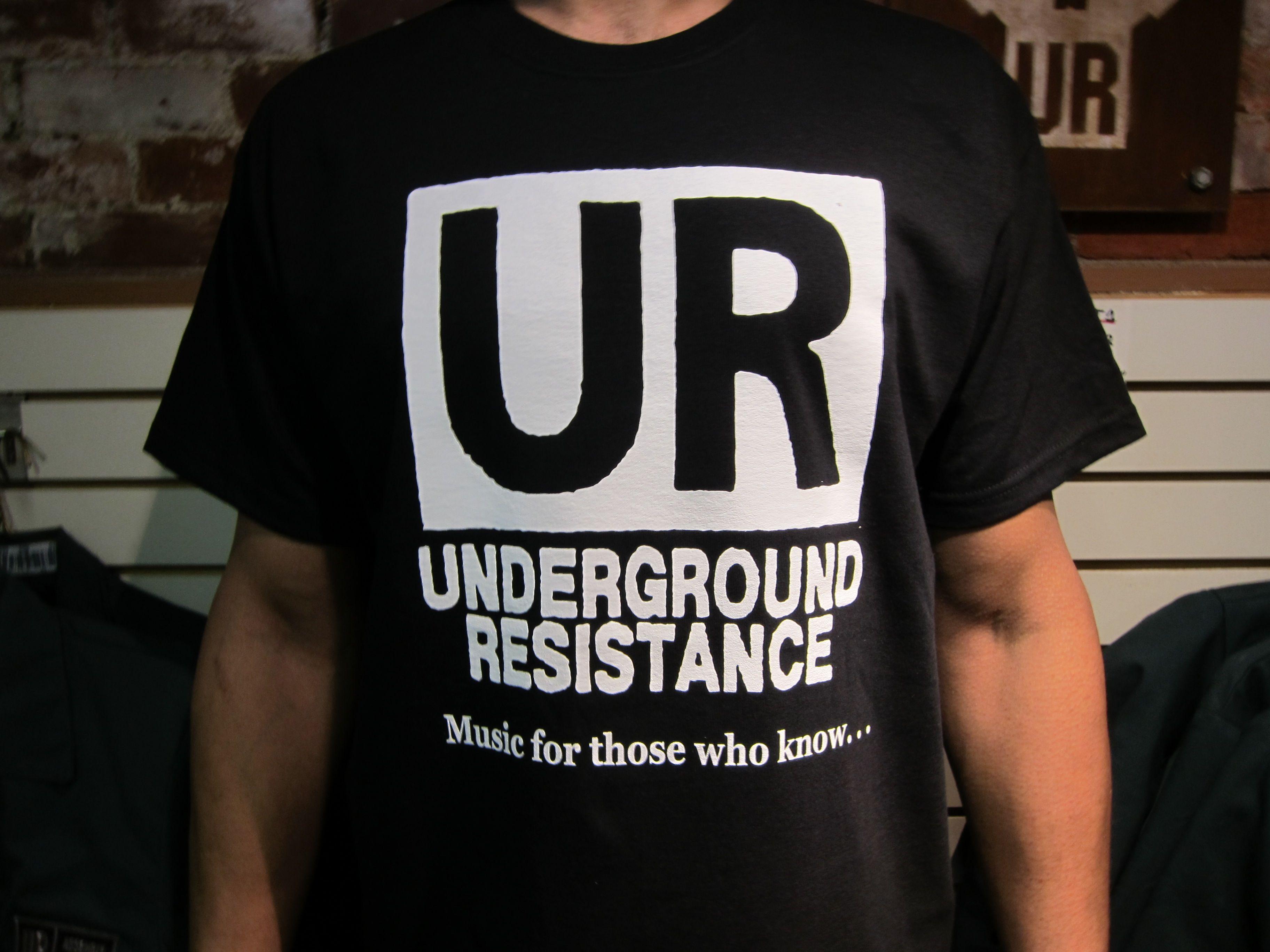 UR - Original UR Short Sleeve Black T-Shirt
