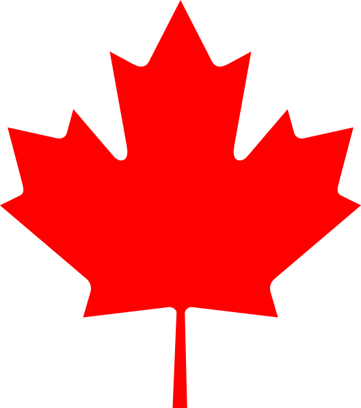 Free Vector Flag Of Canada Leaf Clip Art Graphic Available For Free Download At 4vector Com Check Out Our Collection Of M Canada Leaf Canada Maple Leaf Canada