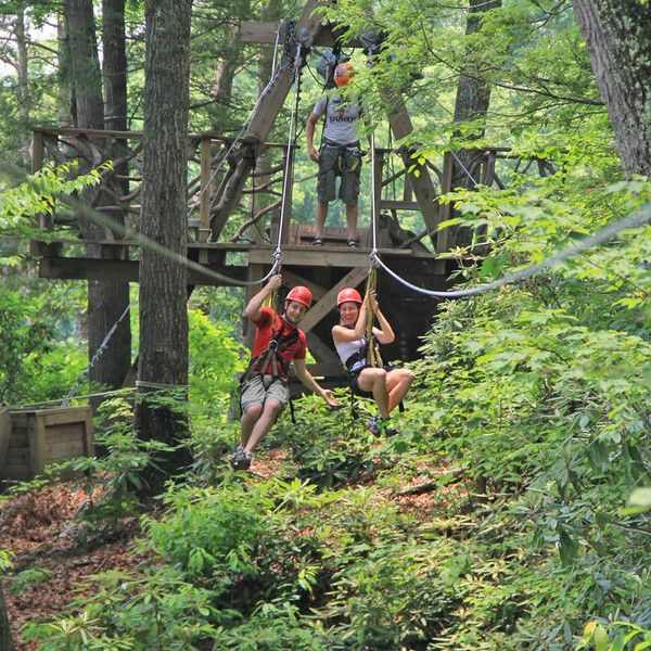 Zip Line Canopy Tour Ace Adventure Resort Myacedream Wv Family