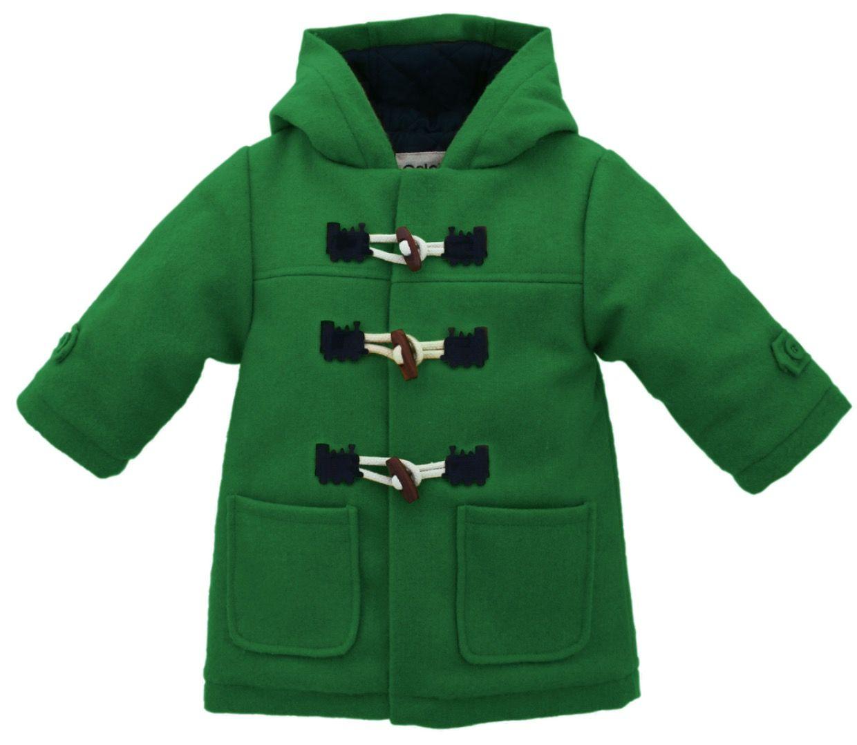Green Train Duffle Coat
