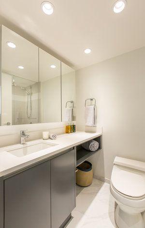bathroom vanity in 2020   laundry room bathroom, bathroom