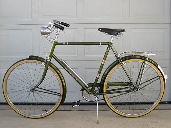 Vintage 1968 Raleigh Sports 3 Speed Cruiser Raleigh Bikes Urban Bicycle Cruiser Bicycle