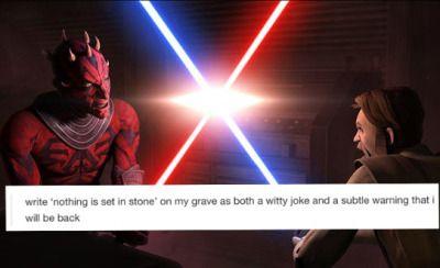 Star Wars Rebels Text Post Tumblr Star Wars Humor Star Wars Rebels Star Wars