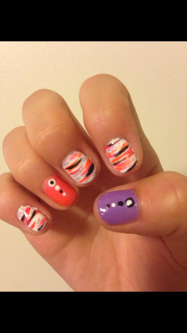 Did my cousins nails on the weekend. Pretty happy with how they ...