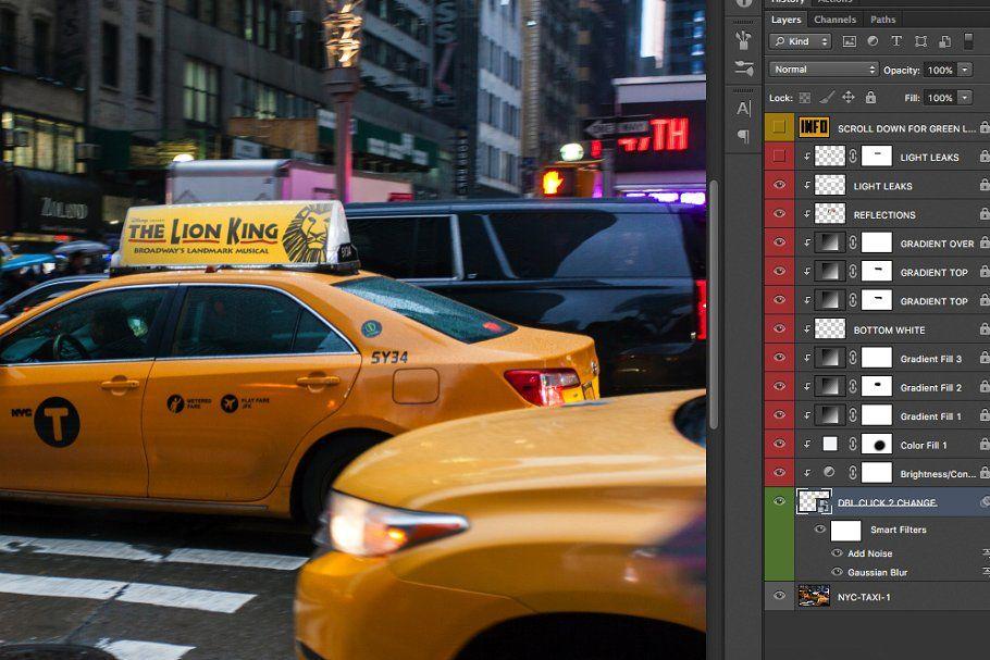 2x Nyc Taxi Ad Mock Ups Taxi Business Card Mock Up Mocking