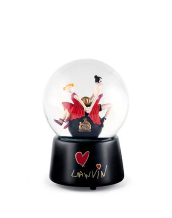 Mother and daughter snowglobe