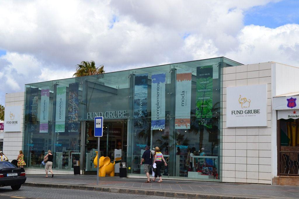 shopping Puerto del Carmen, Lanzarote