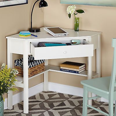Corner Writing Desk Wood Student Computer Table Laptop Workstation Living Room Desks For Small Spaces Corner Writing Desk Home