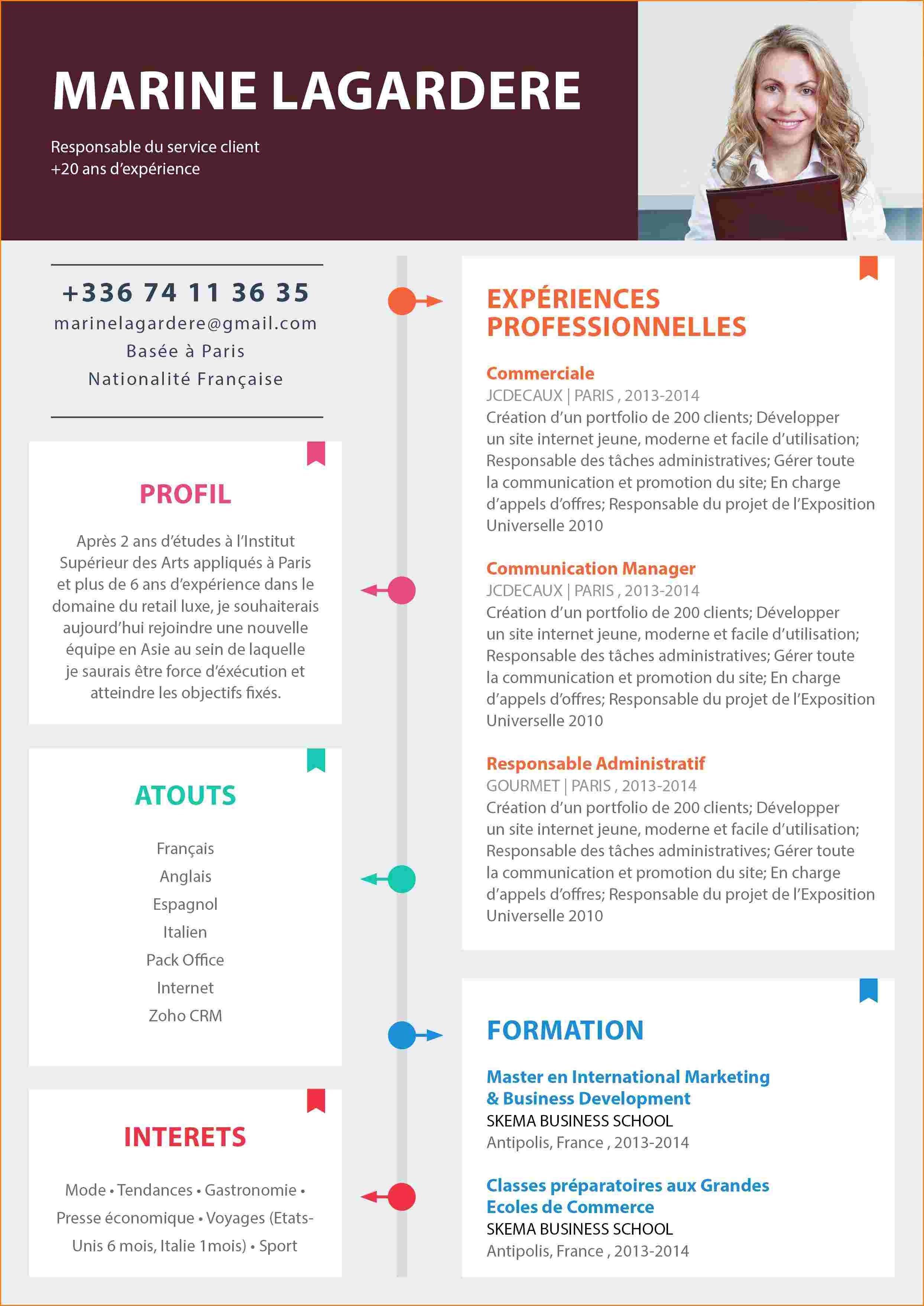 cv word gratuit 2014 Modèle cv, Cv gratuit, Modèle cv