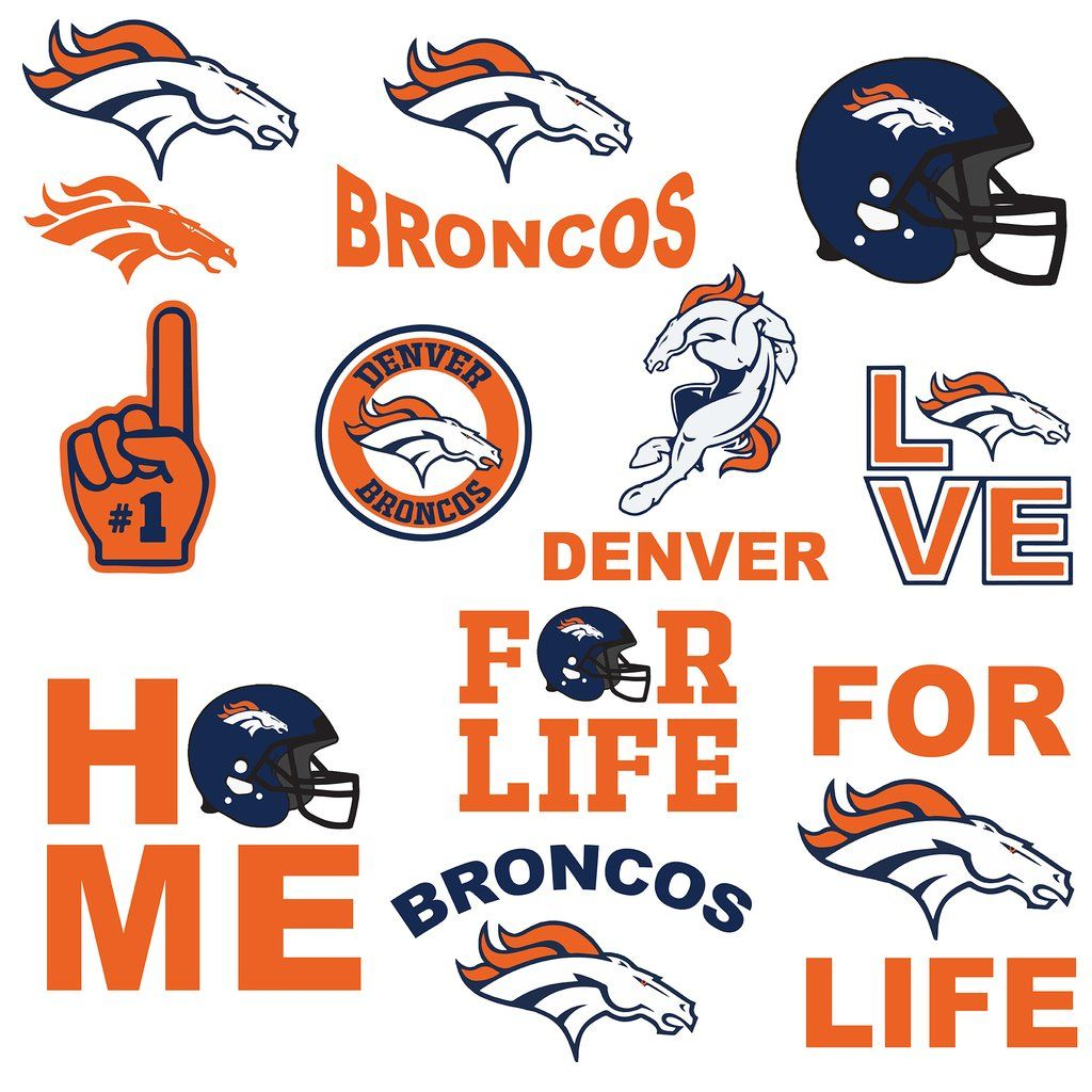 Nfl denver broncos state map svg, nfl svg, state map svg