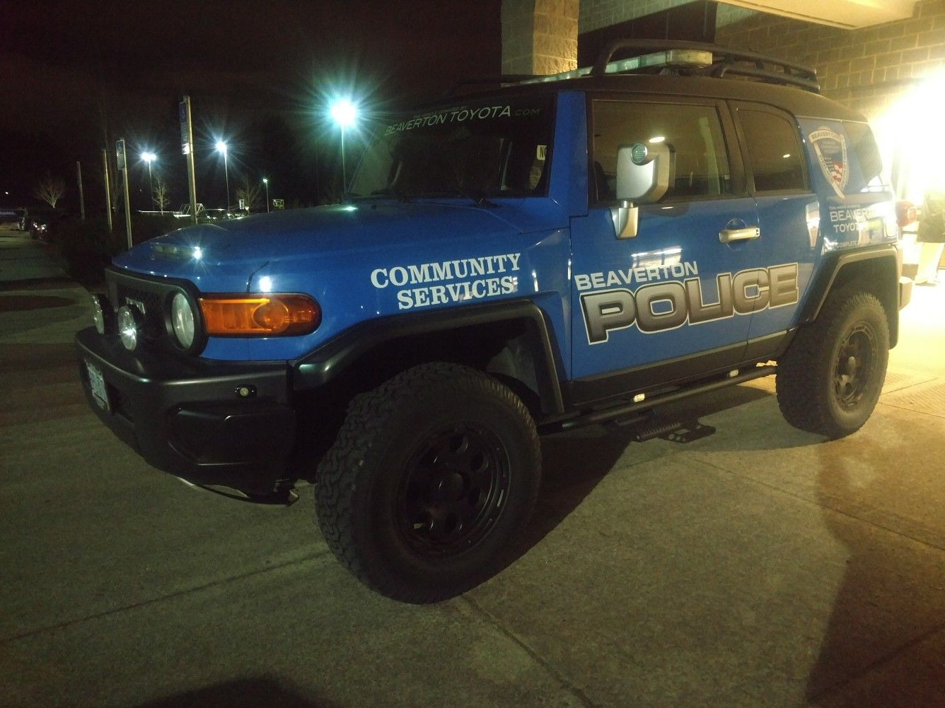 Beaverton Oregon Pd Has Fj Cruiser As Field Vehicle Nice Fj