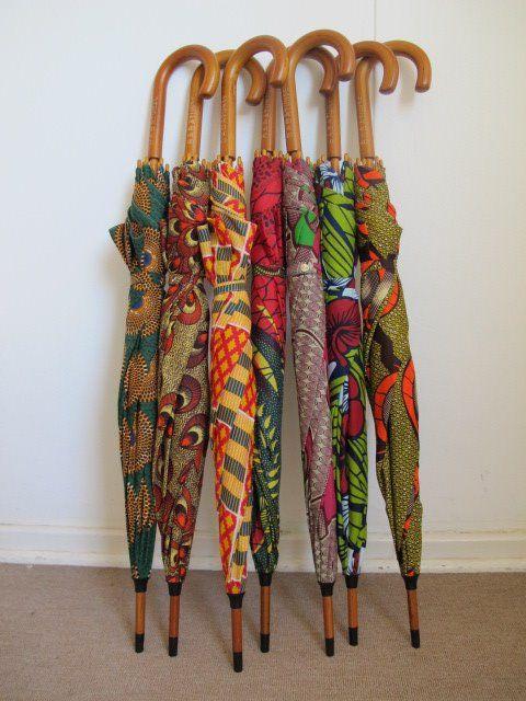 Babatunde Umbrellas - sunshine in the rain!