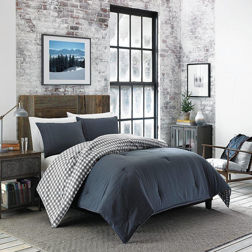 Eddie Bauer Kingston Comforter Set Comforter Sets Grey