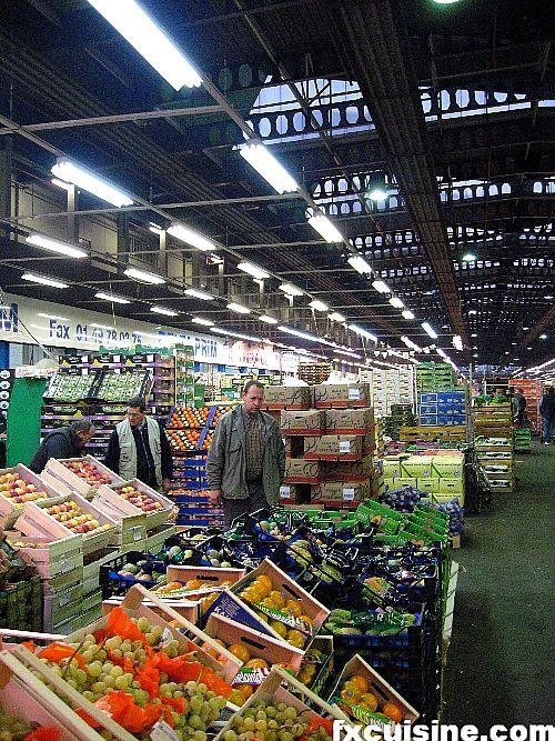 Paris: Rungis, the world's largest produce/game wholesaler