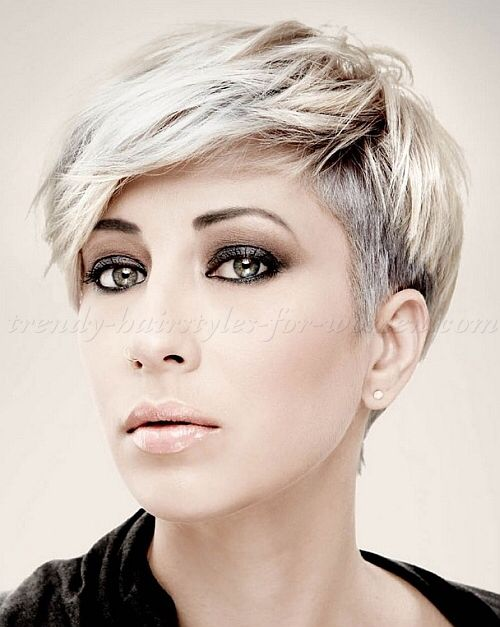 mid length hair styles for undercut pixie hairstyles and color 4420