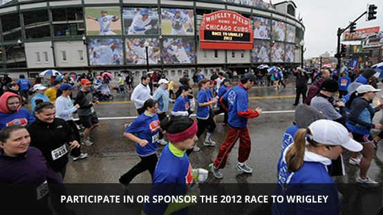 5K Chicago Cubs Race to Wrigley - this sounds so fun!