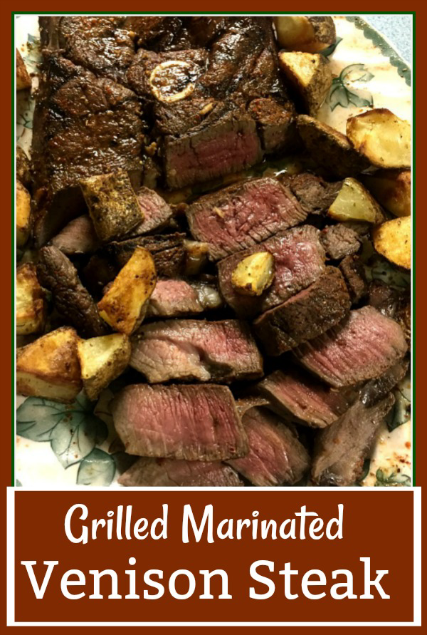 Grilled Marinated Venison Steak Tasty And Tender