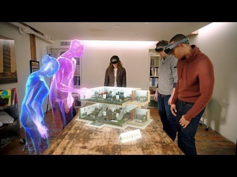 cf39221ba171 holoportation  virtual 3D teleportation in real-time (Microsoft Research) -  YouTube