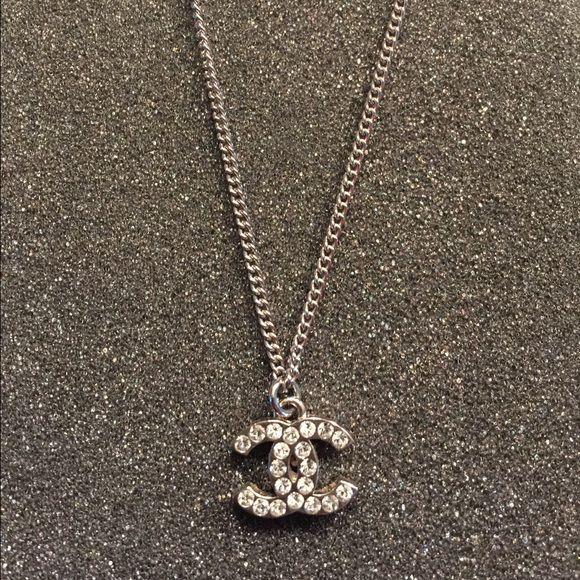 100% Authentic Chanel double C Necklace 100% authentic Chanel necklace  measuring 16