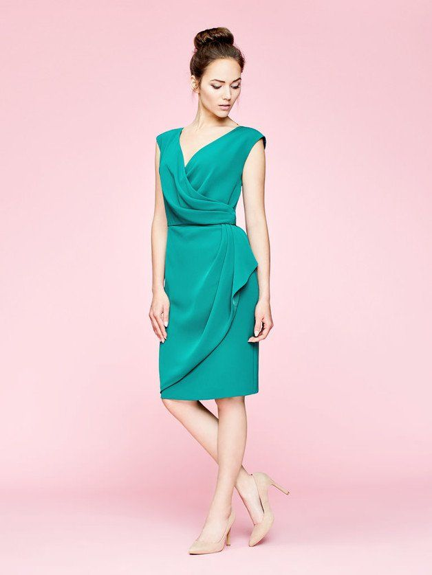 d9f4d15a46b078 SUKIENKA SERENE - MORSKA ZIELEŃ - zoniqo - Sukienki | MODA ...