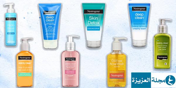 انواع غسول نيتروجينا فوائد وأسعار 8 أنواع مجلة العزيزة Clean Skin Oil Free Shampoo Bottle