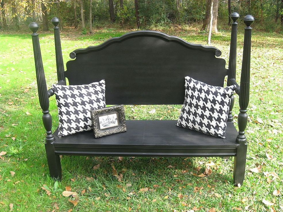 Completed Headboard Bench