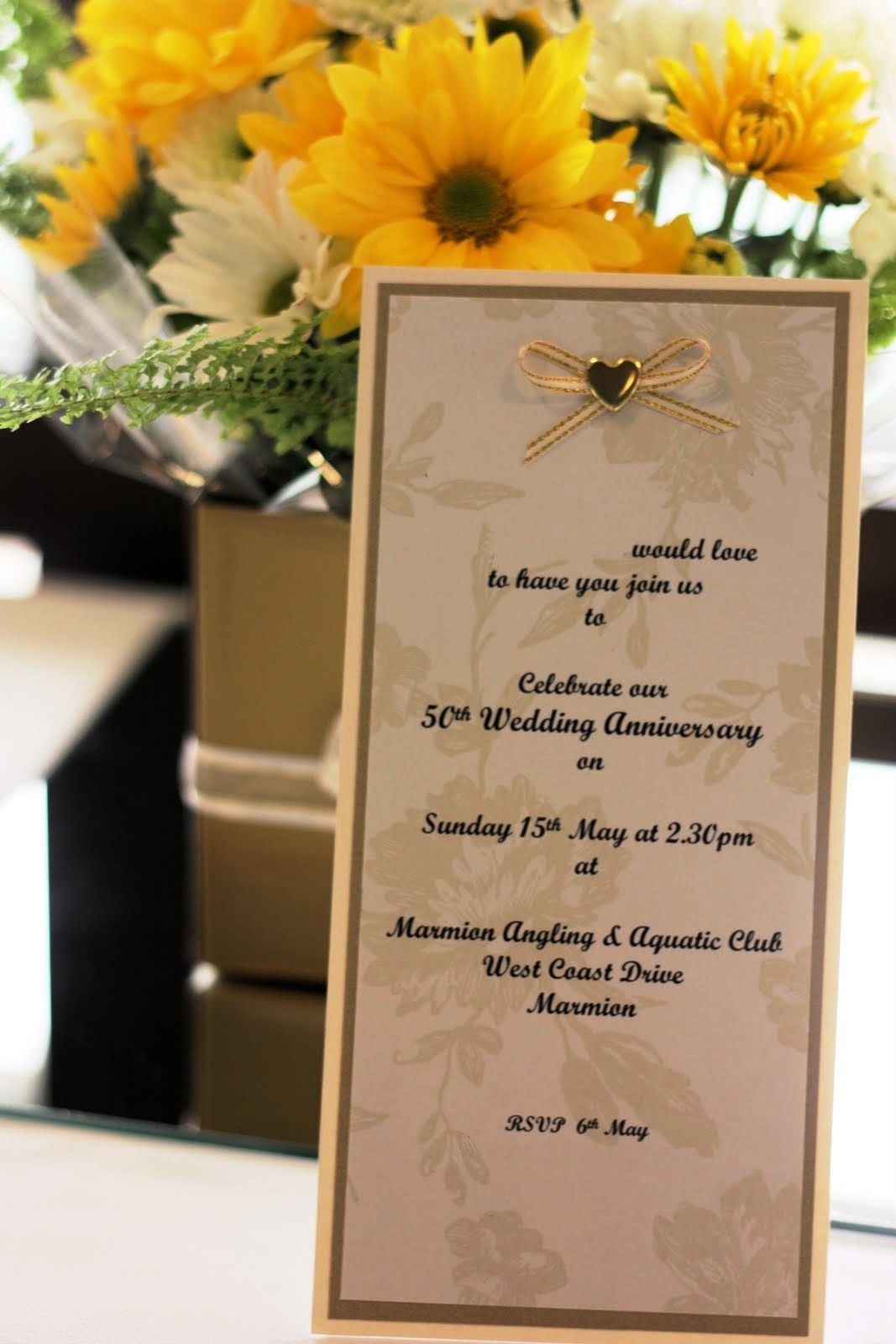 Decoration ideas for 50th wedding anniversary celebration  Stunning with Gold of th Wedding Anniversary Decorations