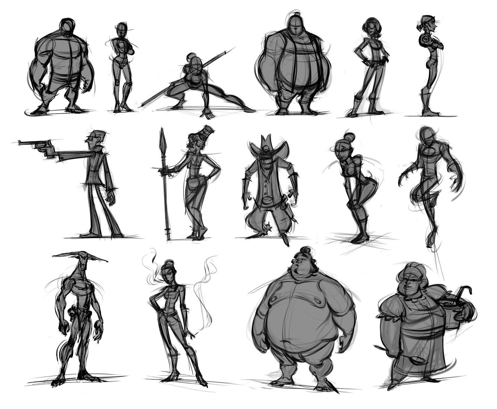 Stephen Silver Character Design App : Artstation fundamentals of character design with stephen silver