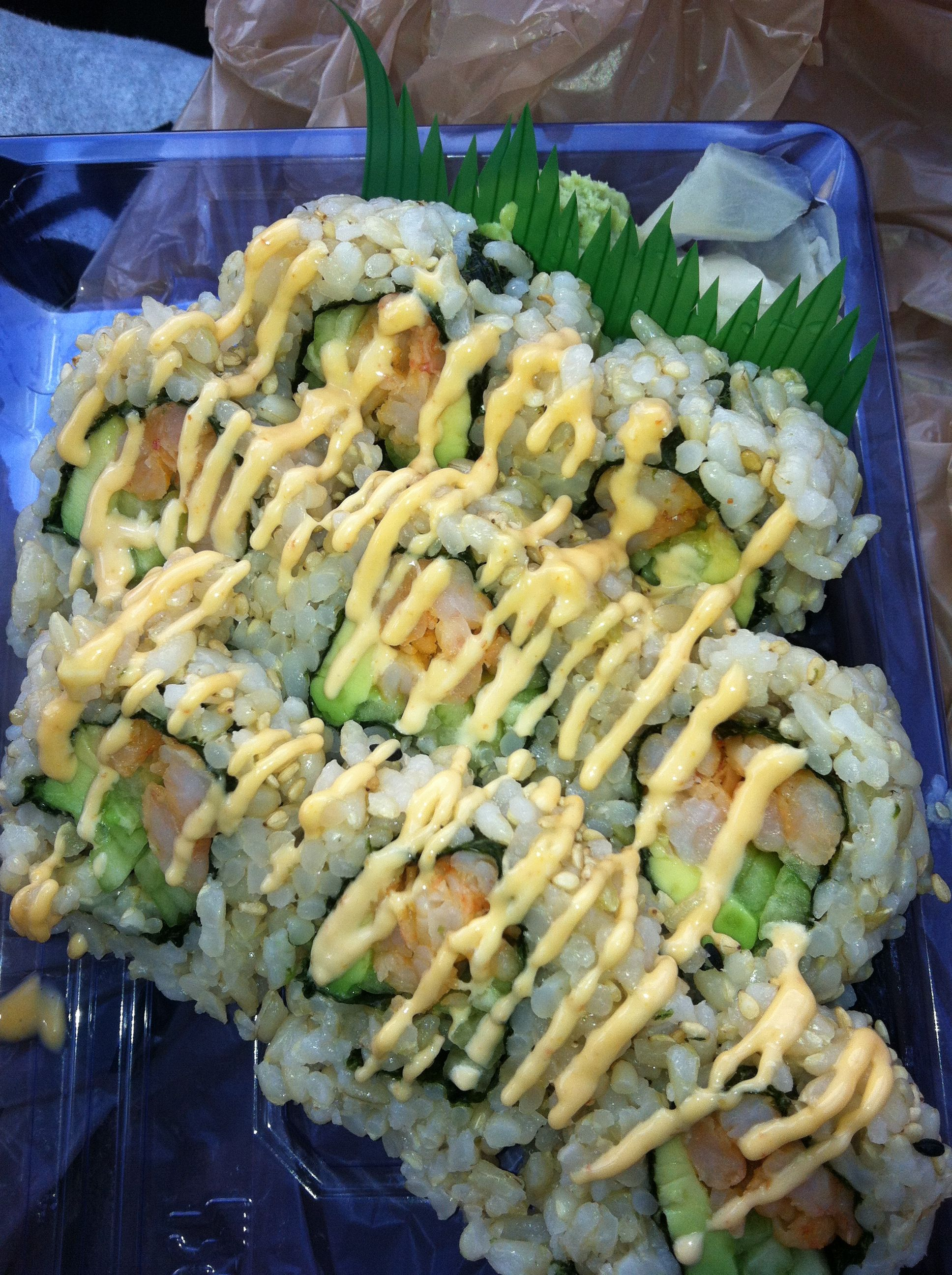Publix Find Spicy California Roll W Shrimp Food Spicy