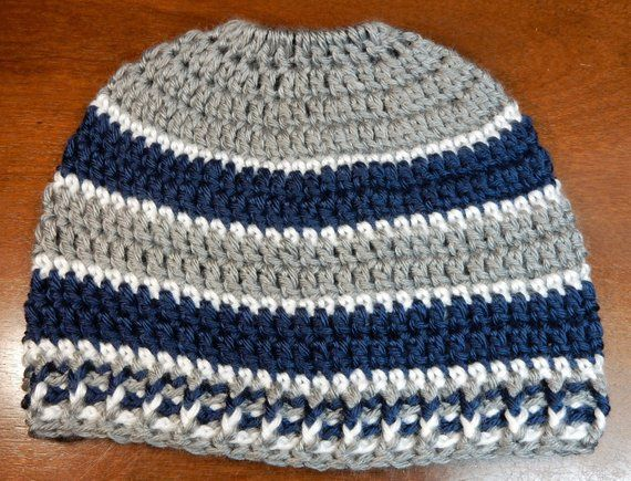 Dallas Cowboys Hat OR Messy Bun Beanie Choose Your Style ...