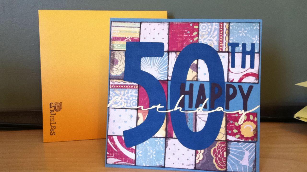 50th birthday card for dad. 50th birthday cards, Dad