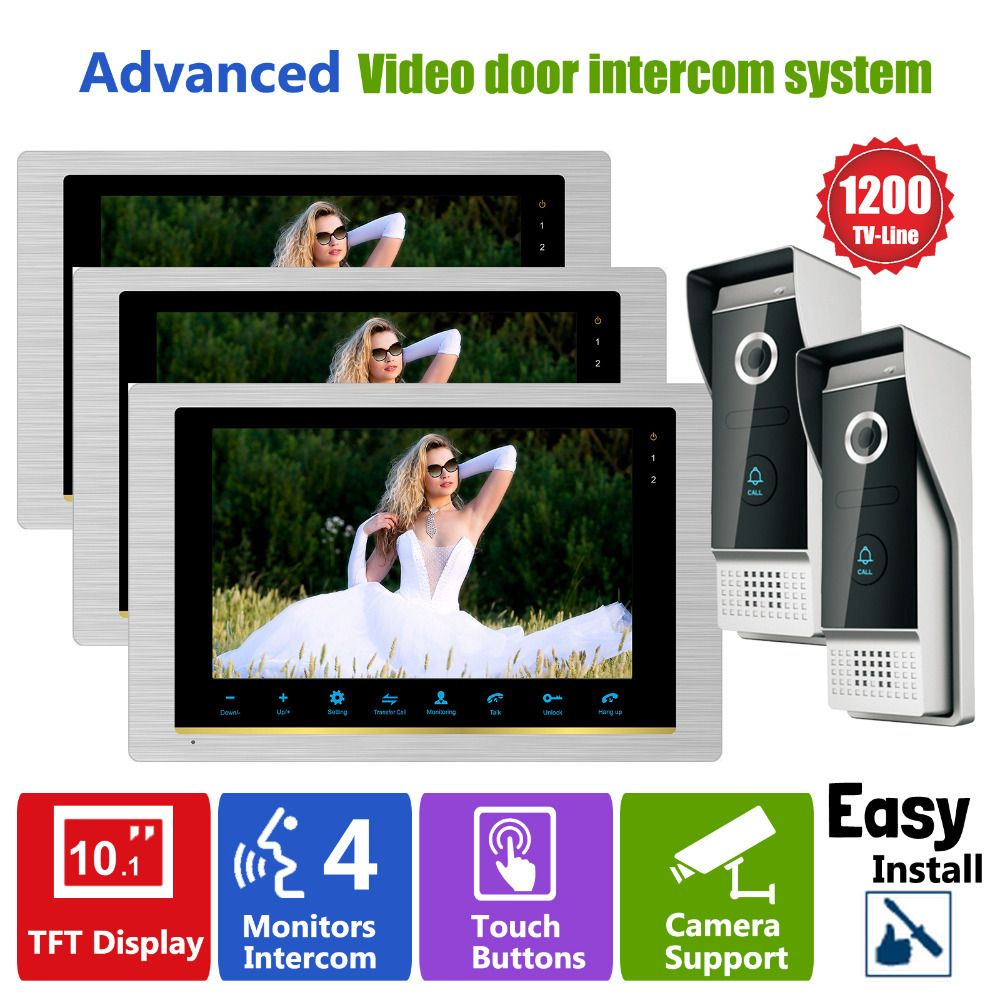 Homefongcamera Door Phone Video Doorbell With Camera Intercom