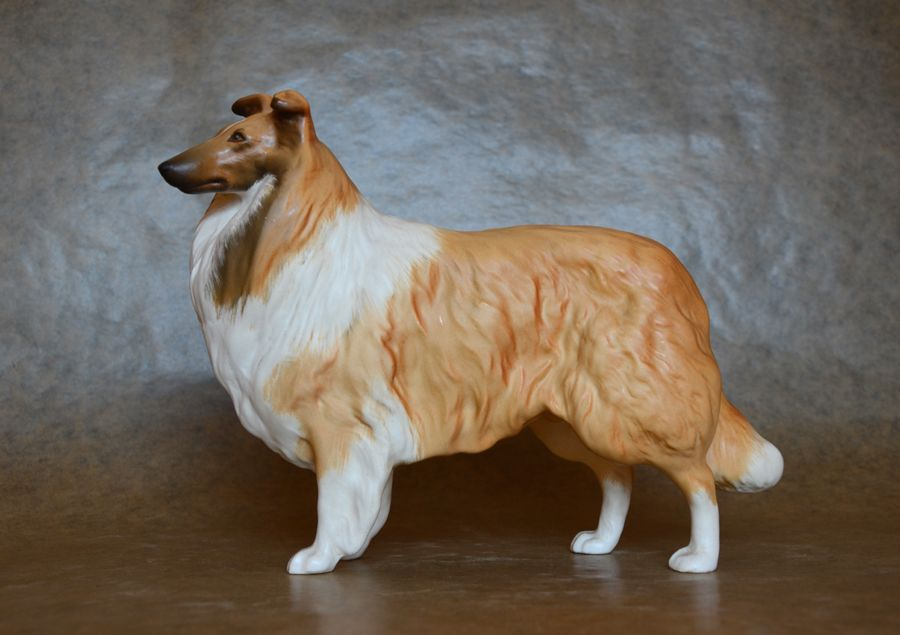 Beswick Rough Collie Lady Park Matt Version Dogs Dog Figurines Horses And Dogs