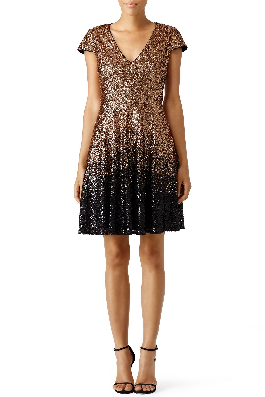741fe530086 Badgley Mischka Ombre Natasha Dress. Rent ...