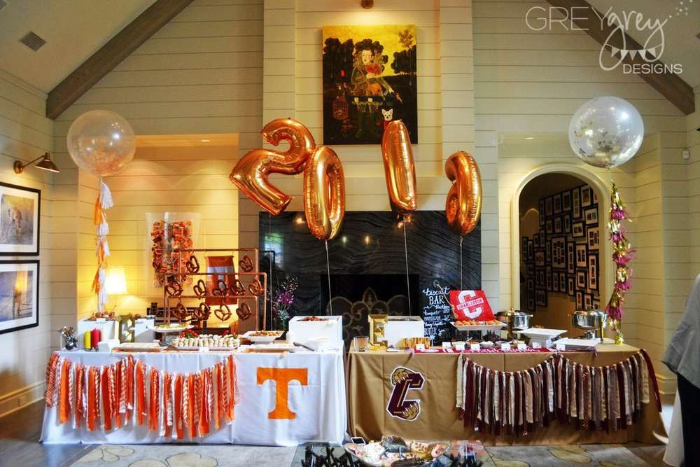 Tailgating, Football Graduation/End of School Party Ideas